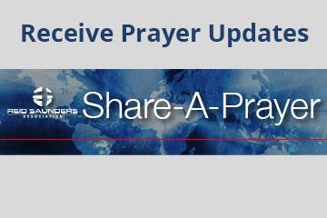 receive prayer updates
