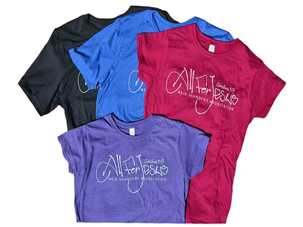 RSA all for jesus tshirts